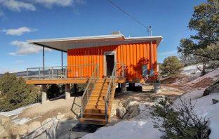 Inspire Box - maison container dans le Colorado