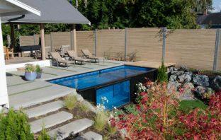 Inspire Box - piscine container en verre