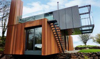 Inspirebox: maison container d'architecte