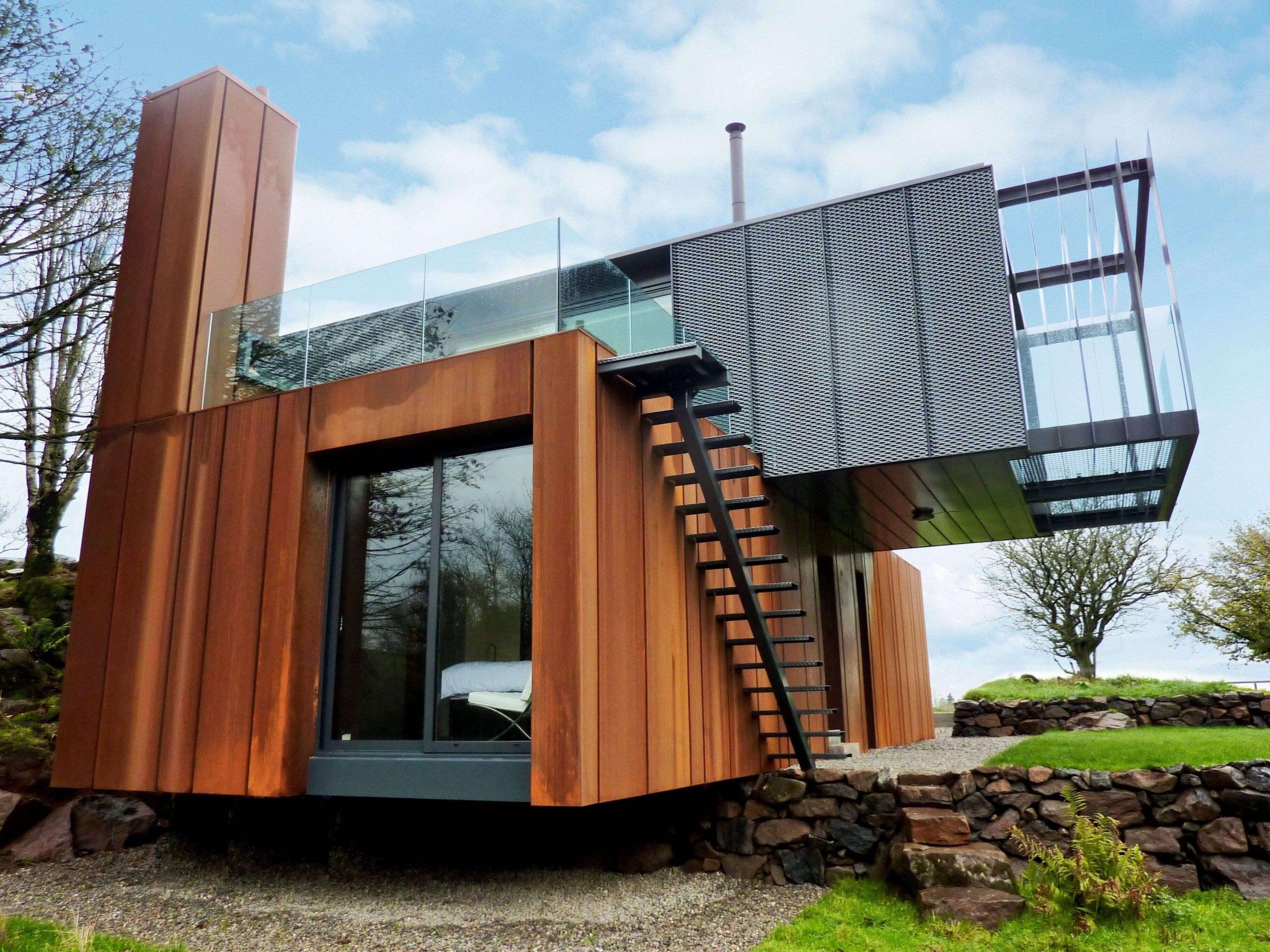 Une Incroyable Maison Container En Irlande Inspirebox