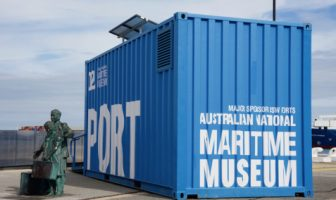Inspire box: Un musée container