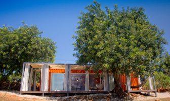 Inspirebox: maison container nomade au Portugal