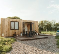 Une tinyhouse le temps d'un weekend au Pays de Galles