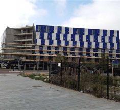 Le nouvel hôtel en containers à Ashford signé Hilton