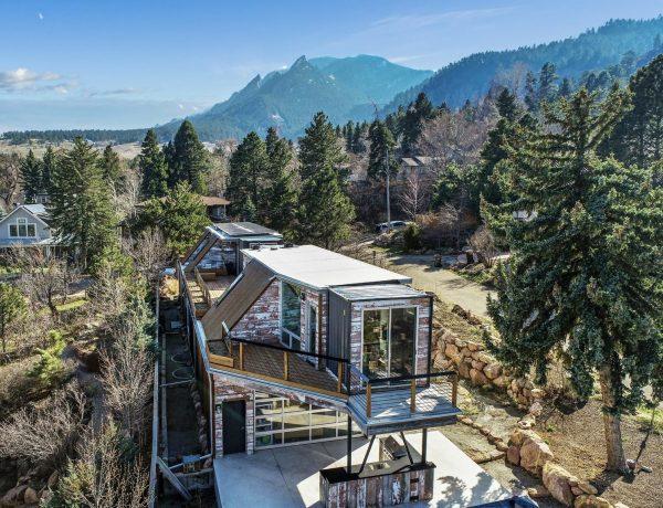 Une maison container vendue pour 3,15 millions de dollars