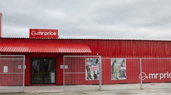 La première boutique container en Afrique du Sud de Mr Price